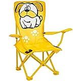 Cadeira Infantil Dobrável BullDog Amarela MOR