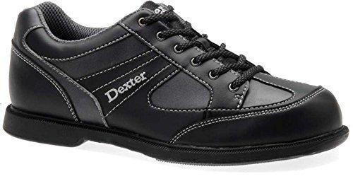 Dexter Pro Am II Bowling Shoes, Black/Grey Alloy, 9.5 by Dexter