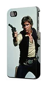 S0791 Han Solo Case Cover for Iphone 5 5s