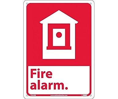 NMC FGA2RB Señal de seguridad alarma de incendio (W/gráfico ...