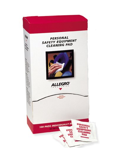 Allegro 1001 Respirator Alcohol Cleaning