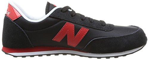 New Balance 410, Zapatillas Unisex Niños Multicolor (Black/Red)