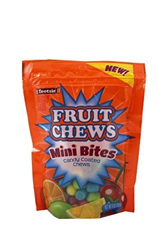 Tootsie Fruit Chews Mini Bites (Pack of 12)