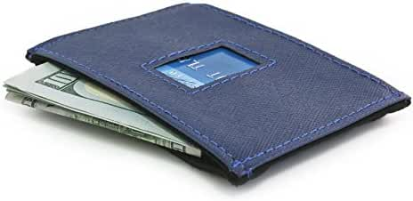 Dash Co. RFID Blocking Slim Travel Wallet 4.0 for Men Stops Electronic Pick Pocketing Works Against Identity Theft & Credit Card Data Breach by Stopping RFID Scans