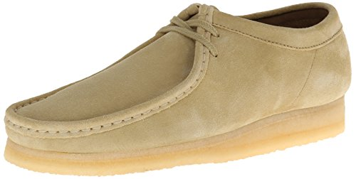 CLARKS Men's Wallabee Oxford Maple Suede, 10.5 M (Clarks Wallabee Oxford)