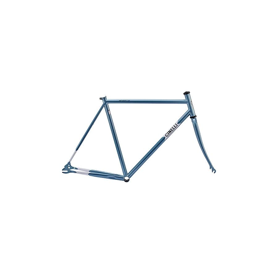 Cinelli Men's Gazzetta Bicycle Frame Set, 50.5cm/X Small, Blue