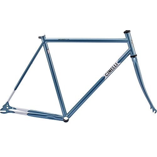 Cinelli Men's Gazzetta Bicycle Frame Set, 55.5cm/Medium, Blue