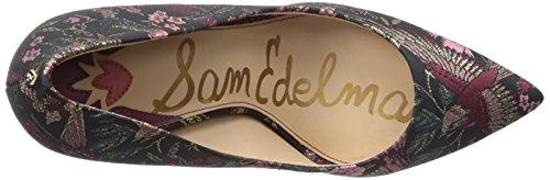 Sam Edelman Mujer's Hazel Pump Black / Multi Jacquard Print