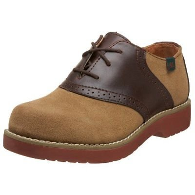 School Issue Varsity 6300 Uniform Shoe (Toddler/Little Kid/Big Kid),Dirty Buck Suede,3.5 W US Big - Toddler Dirty Buck