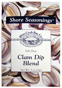 Clam Dip Recipe (Blue Crab Bay Co. Shore Seasonings Dip Blend Clam -- 0.5 oz)