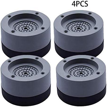 Fußpuffer für Waschmaschine, Anti-Vibration, für die Waschmaschine, Füße, Stabilisator, rutschfest, stoßdämpfend, stoßfest