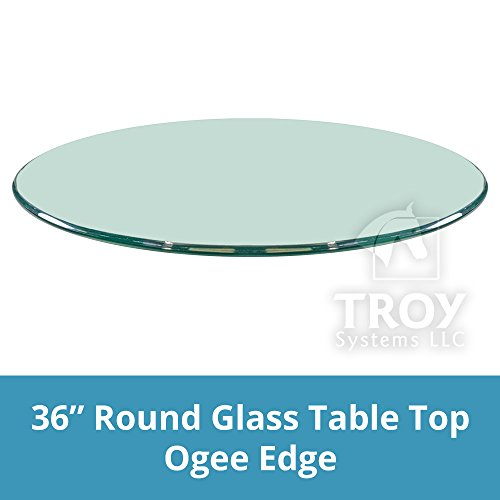 36 round glass table top - 9