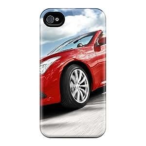 Hot Design Premium KsCXOIQ7050xjIWF Tpu Case Cover Iphone 4/4s Protection Case(vehicles Infiniti G37 Sport)