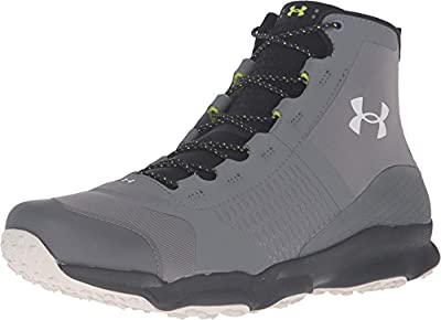 Under Armour Mens Speedfit Hike Mid Trail Sneaker, Graphite/Black/Smoke, 10.5 D(M) US