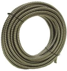 Southwire 55282101 Dataflex Flexible Metal Conduit, 1/2 in, 100 Ft. Coil