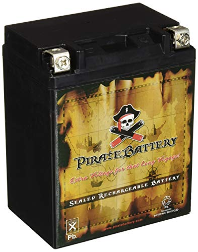 Pirate Battery YB14L-A2 High Performance Power Sports Battery
