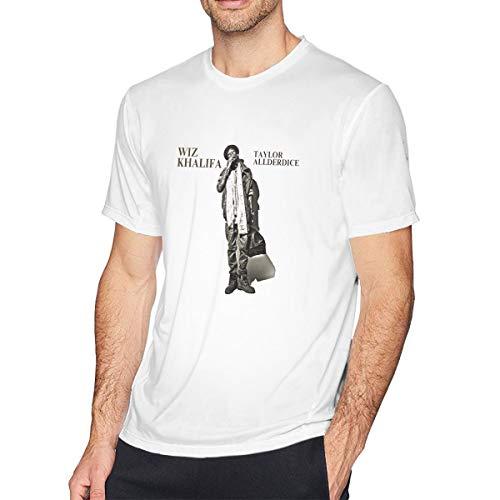 TERRY GARRARD Wiz Khalifa Adorable Music Band Men's Short Sleeve T-Shirt White L