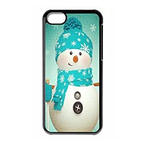Christmas Funny Snow man hard back phone case for iPhone 5c