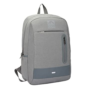 b0179e0c1512 Outdoor Gear Laptop Tablet Jacquard Backpack Camping Travel Bag Waterproof  1813 (Grey)  Amazon.co.uk  Luggage