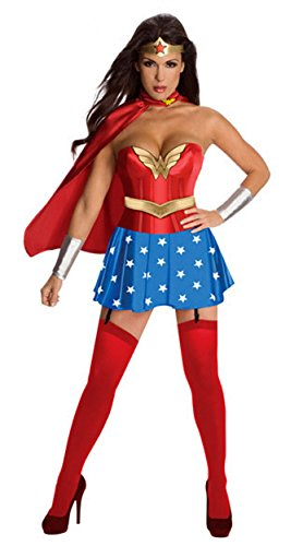KSHUN Women's Halloween Cosplay DC Anime Superman Wonder Woman (Anime Wonder Woman)