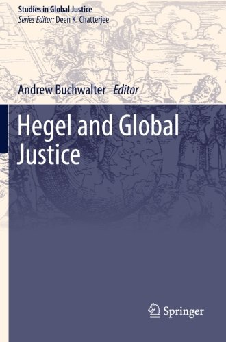 Hegel and Global Justice (Studies in Global Justice)