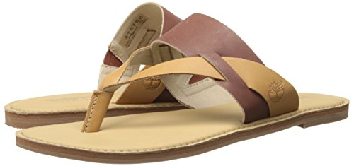 Dry Light Timberland Thong Sheafe tan Brown Earthkeepers Gulch Women's Sandal HH0P64
