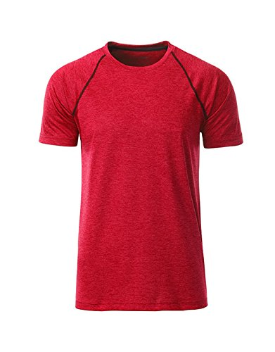Red Shirt Homme Fitness Et 2store24 titan Technique melange Tee Pour Sports tFH51nw8xq