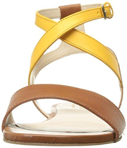Cole Haan Kvinders Fenley Flad Sandal Sunglow / British Tan z7Yak