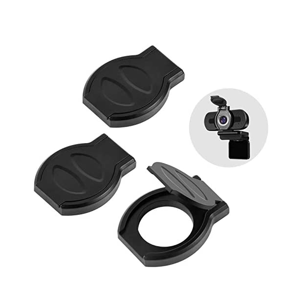 Webcam Cover 3 Pack Webcam Privacy Shutter Protects Lens Cap Hood Cover with Strong Adhesive Protecting Privacy