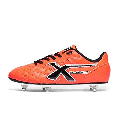 X Blades - Zapatillas de rugby para niño Rojo - rojo