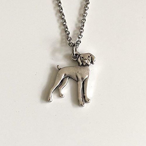 Vizsla Dog Necklace - Weimaraner or German Shorthaired Pointer Dog Breed Jewelry - Gift for Dog - Pointer Jewelry Shorthaired German