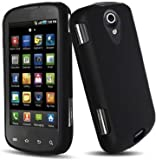 Black Rubberized Hard Case for Samsung© Epic 4G (Galaxy S) D700