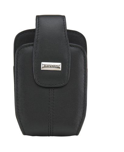 BlackBerry Lambskin Leather Swivel Holster for 8800, 8820, and 8830 (Black)