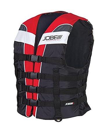 Jobe Progress Dual Nylon Vest red Schwimmweste Bootsweste Wasserski
