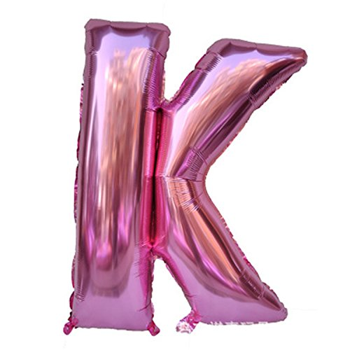 Foil Balloons Wholesale - Desirca 40 Inch Pink Letter Balloons 1Pcs Alphabet Balloons Wholesale Foil Balloon Birthday New Year Wedding Party Supplies Decoration B K