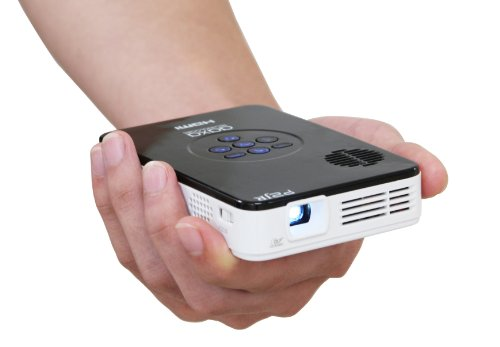 AAXA P2 Jr. Pico DLP Mini Projector Gloss White/Black KP-100-02