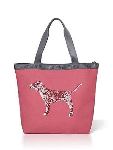 victorias-secret-bling-sequin-dog-zip-top-tote-soft-begonia-pink