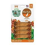 Cheap Nylabone Healthy Edibles Natural Dog Treats, Bacon, X-Small, 8 Count