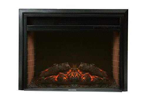 "Price comparison product image Greystone F2609E Electrical Fireplace (26"" X 20.8"" X 6.7"" with remote 323673 0163629 (SF208-26A))"