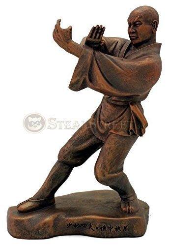 Top Collection Kungfu Series Shaolin Monk Statue Figure Bronze Hue 4094 kung fu