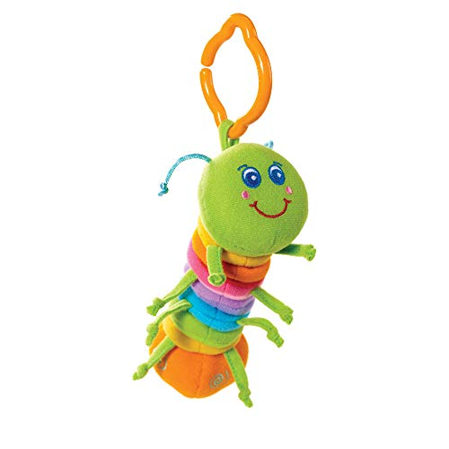 - Tiny Love Tiny Smarts Jittering Activity Toy, Jay