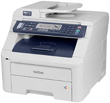 Brother MFC-9010CN Digital Color All-in-One Printer with Networking