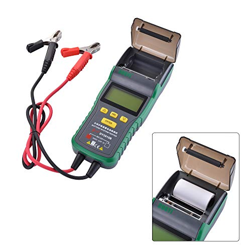 XCSOURCE DY2015B Automotive Battery Tester Battery Analyzer Tool Thermal Printer MA1904 by XCSOURCE (Image #5)