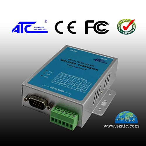 Lysee Active industrial grade RS232 to RS485/422 switching head photoelectric isolation converter ATC-107N