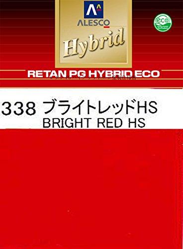 コスト削減に!レタンPG ハイブリッド エコ #338 ブライトレッドHS 3kg /自動車用 1液 ウレタン 塗料 関西ペイント ハイブリット B0721WBXN3 3kg  3kg