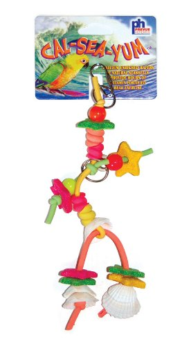 Prevue Hendryx Cal Sea Yums Mate Bird Toy