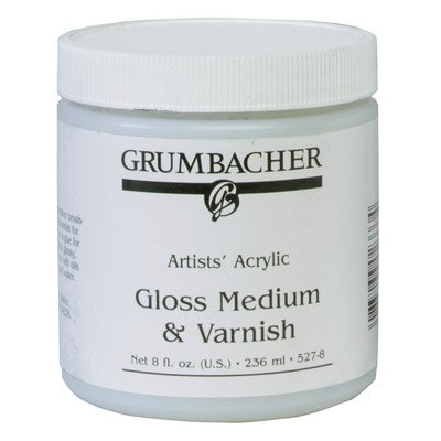 M Medium and Varnish Spray Color: Gloss