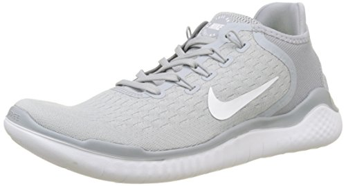 - Nike Men's Free RN 2018 Wolf Grey/White/Volt Size 10.5 M US