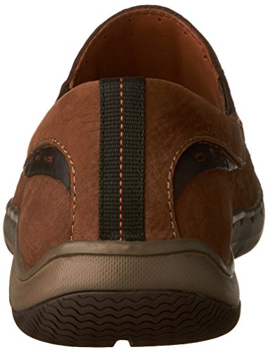 Clarks - Mens Unmaslow Easy Loafer Brown Tumbled Nubuck euj5A