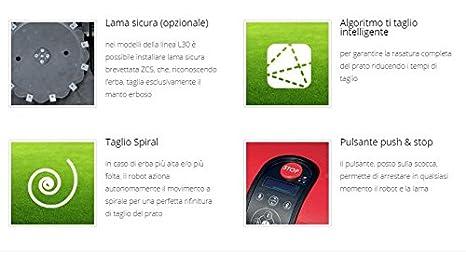 Cortacésped Zucchetti Ambrogio L30 Elite S Plus Pro Line: Amazon ...